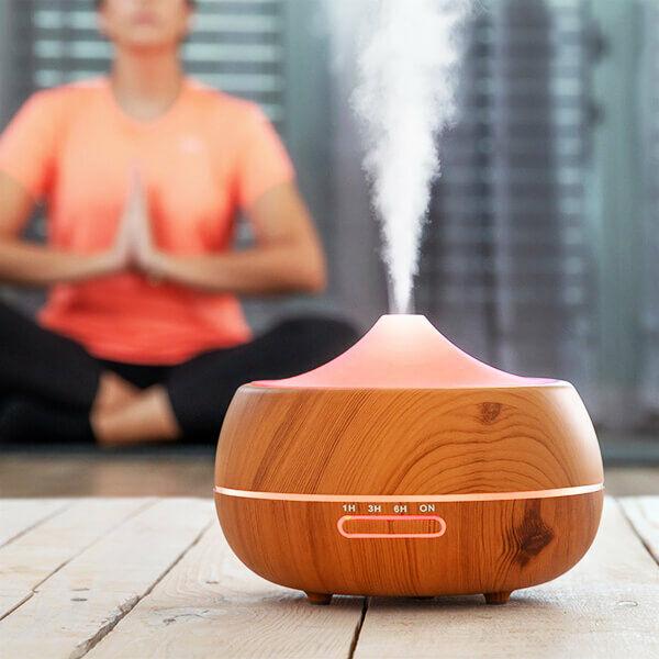 Aromaterápiás Zen Párásító