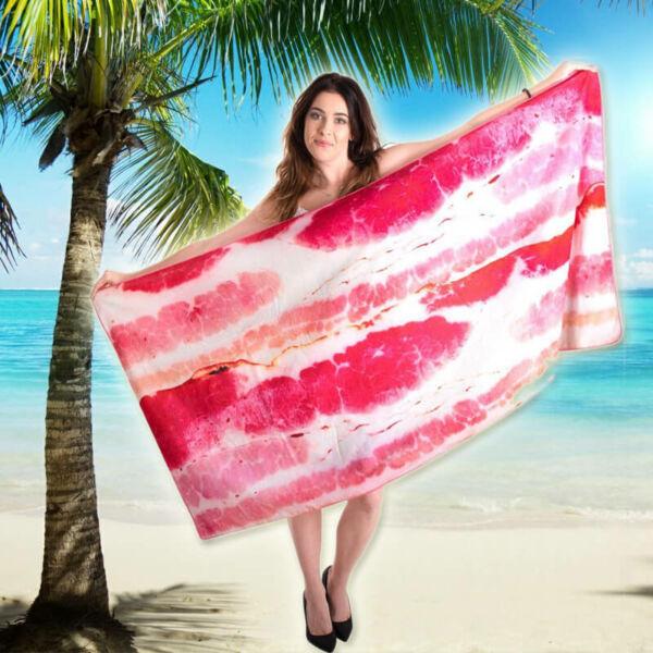 Bacon Strandtörölköző