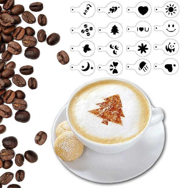 Cappuccino Díszítő Sablon