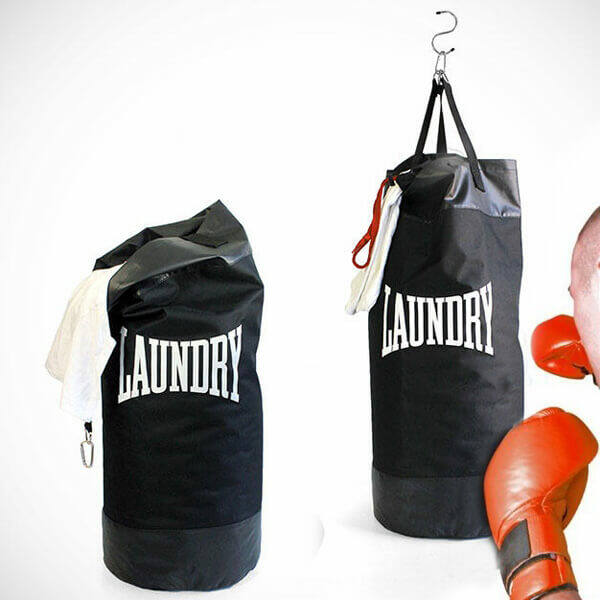 Boxzsák Szennyestartó