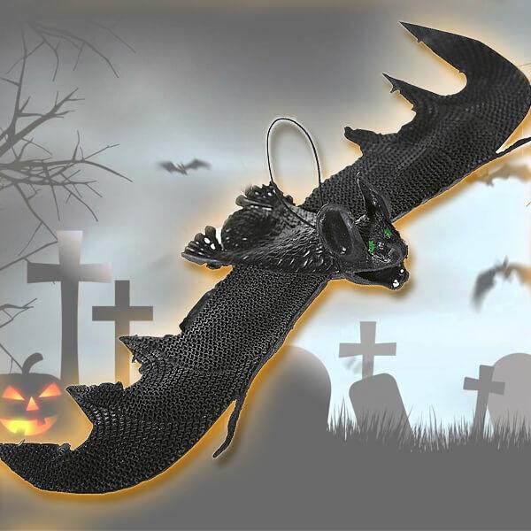 Denevér Halloween Dekoráció