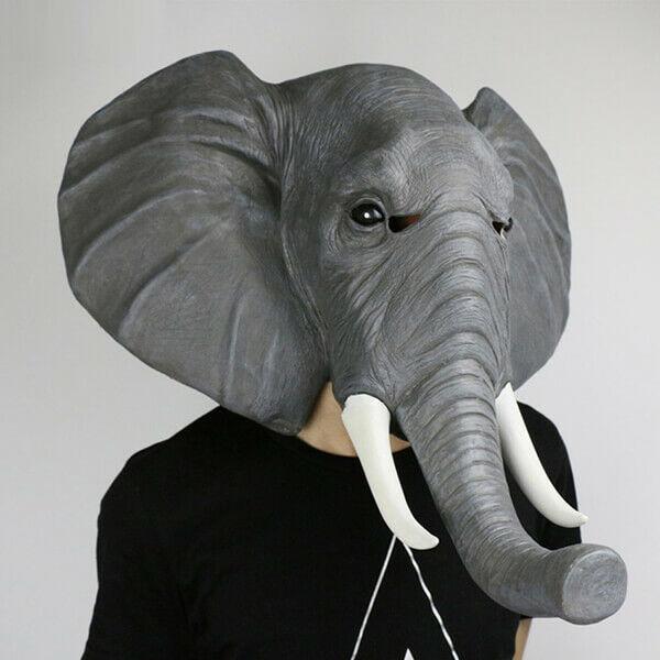 Elefánt Maszk