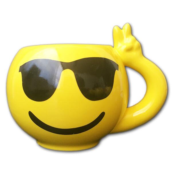 Emoji Bögre Cool