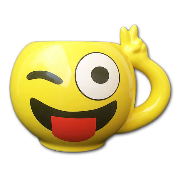 Emoji Bögre Kacsintós