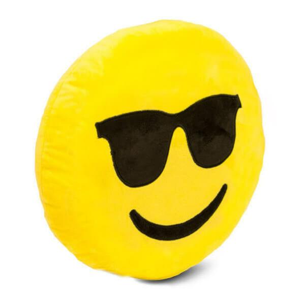 Plüss Emoji Párna - Cool