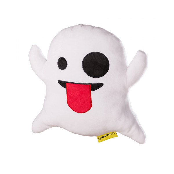 Plüss Emoji Párna - Szellemes