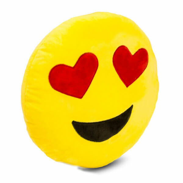 Plüss Emoji Párna - Szerelmes