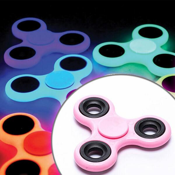 Fidget Spinner Fluo Pink