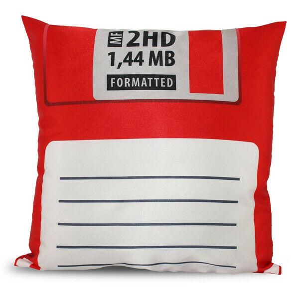 Floppy Lemez Párnahuzat - piros