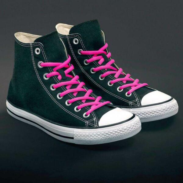 Fluoreszkáló Cipőfűző - pink