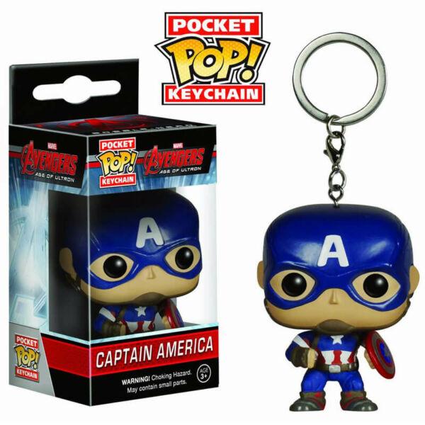 Funko POP! kulcstartó Amerika Kapitány