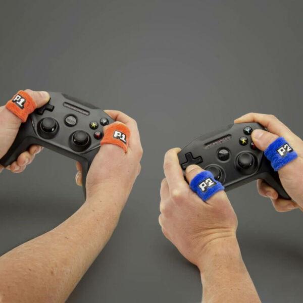 Izzadság felfogó ujjpánt szett gamereknek