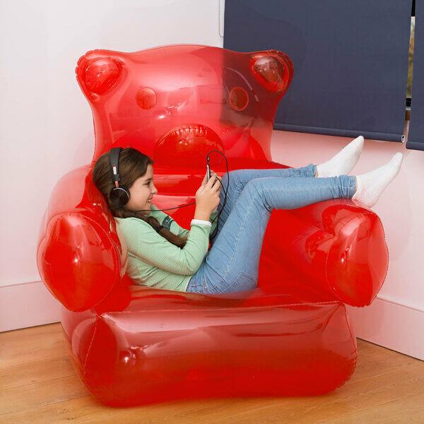 Gumimaci Felfújható Fotel