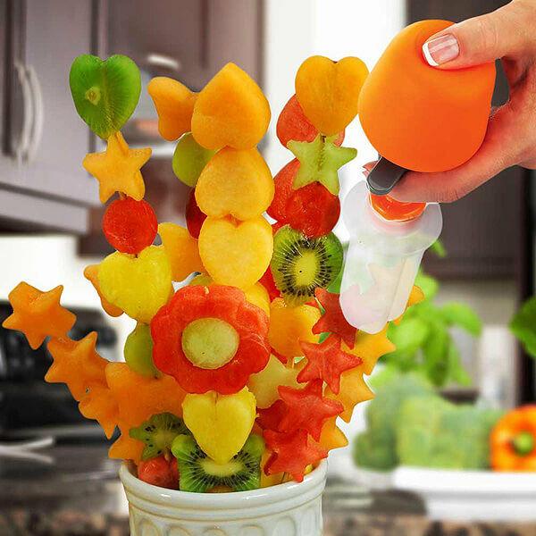 Gyümölcs virág készítő