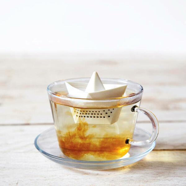 Papírhajó Teafű Áztató