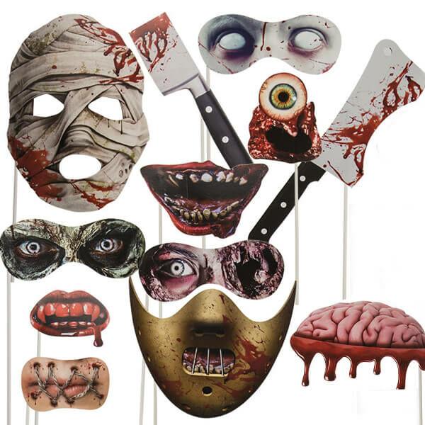 Horrorisztikus Halloween Pálcák