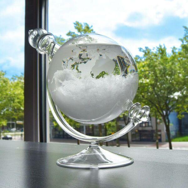 Időjós Üveg Földgömb