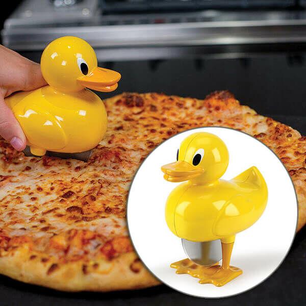Kacsa Pizza Szeletelő