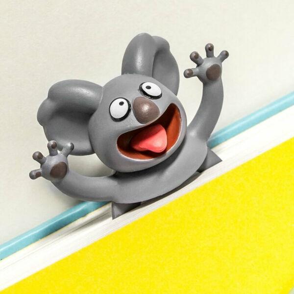 Kilapított Könyvjelző Állatok Koala