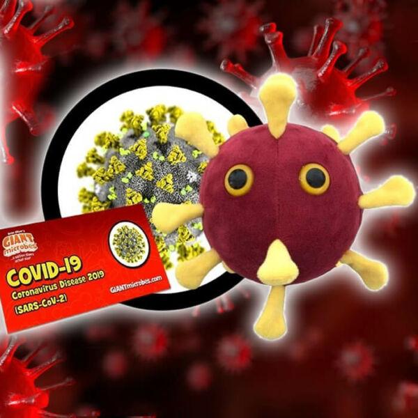 Koronavírus Plüss