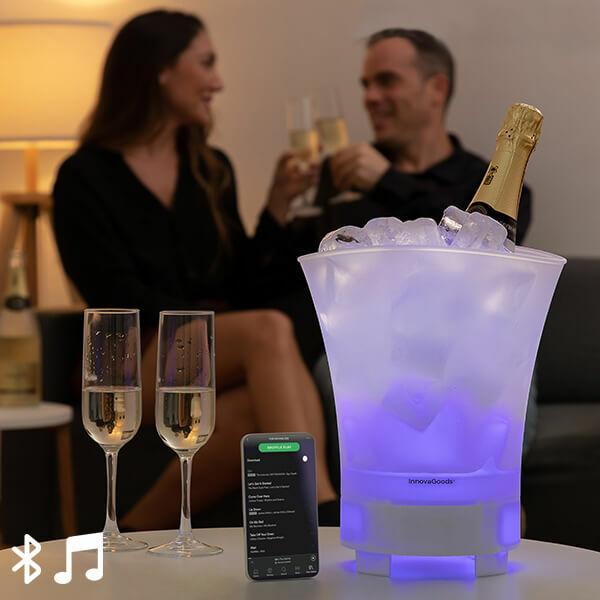 LED Jégvödör Bluetooth Hangszóróval
