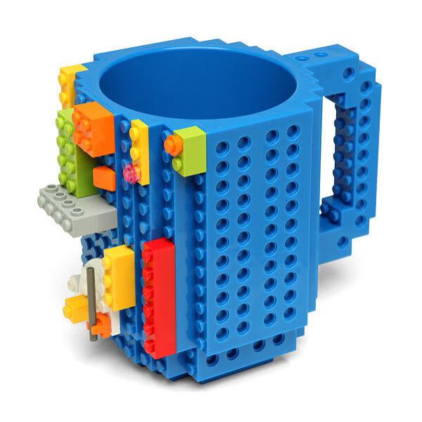LEGO bögre kék