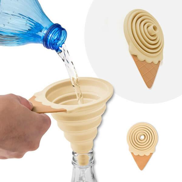 Mágneses Fagylalt Tölcsér - vanília