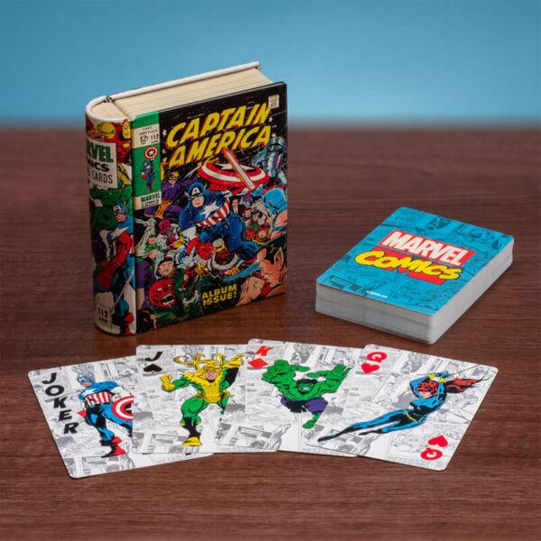 MARVEL Szuperhősök Póker Kártya