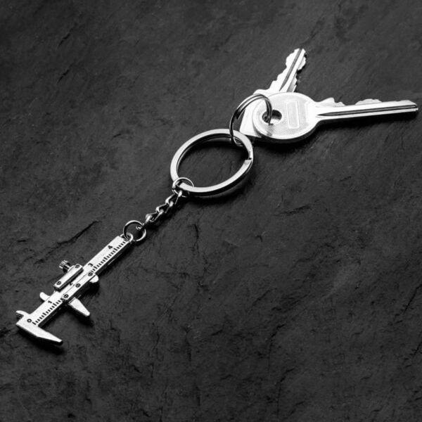 Mini tolómérő kulcstartó