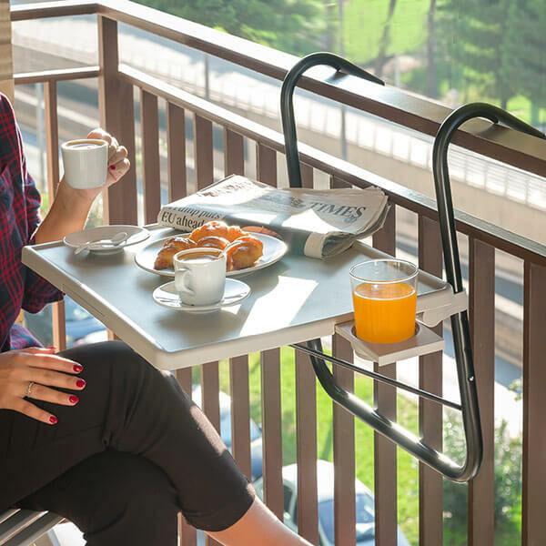 Multifunkciós Balkon Asztal