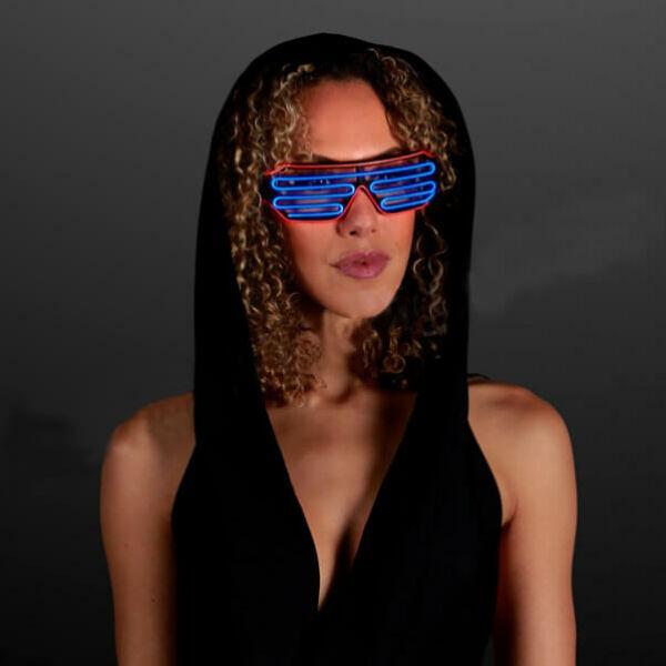 Neon Fény Party Szemüveg