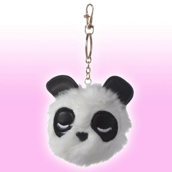 Pompom Panda Kulcstartó