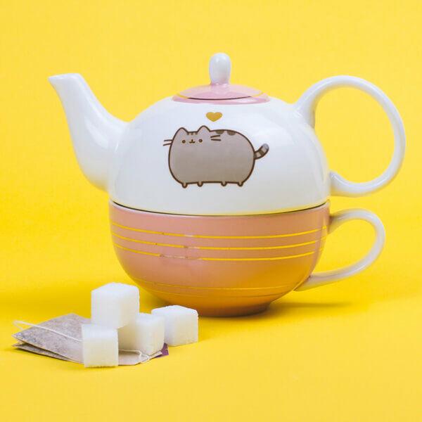 Pusheen Tea Készlet