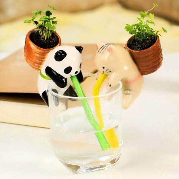 Puttonyos Szürcsölő Panda - bazsalikom