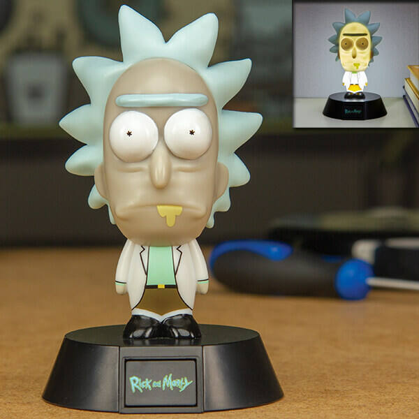 Rick és Morty ajándék lámpa