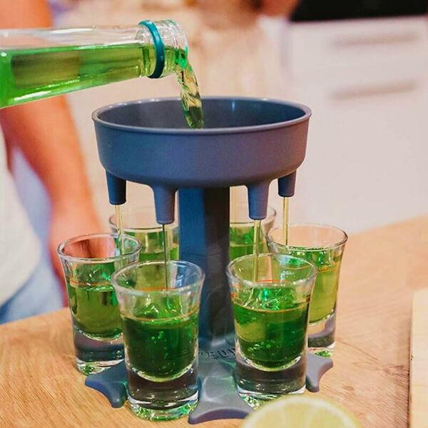 Feles Gyors Kitöltő poharakkal