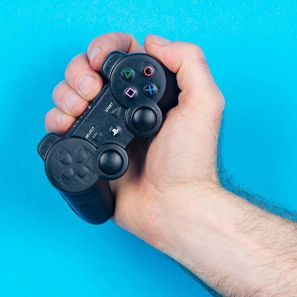Stresszoldó PlayStation Kontroller