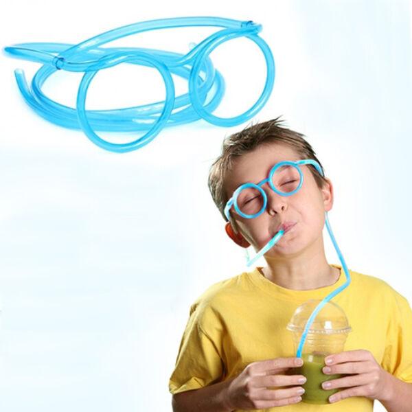 Szemüveg Szívószál