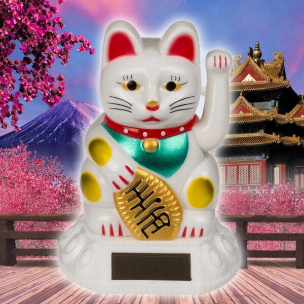Maneki Neko Szerencsehozó Macska