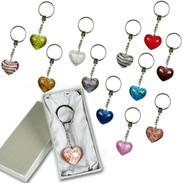 Valentin napi ajándék - Szív kulcstartó
