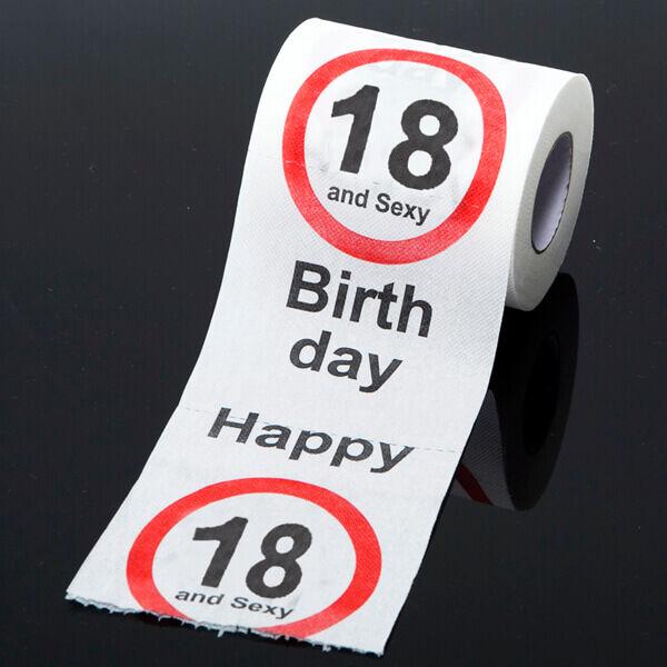 Születésnapi WC Papír 18