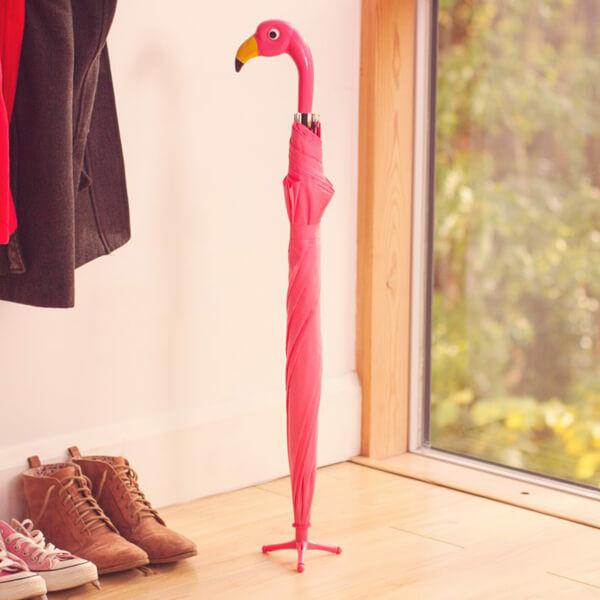 Flamingós Esernyő talpakkal