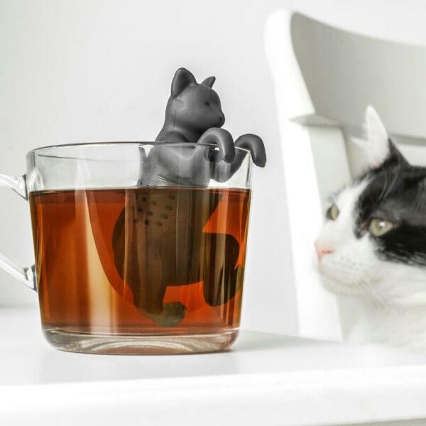 Teafű Áztató Cicus