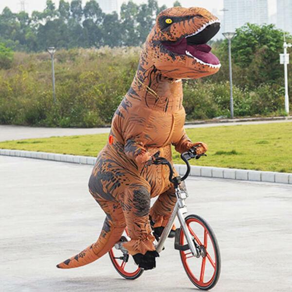 T-rex dino jelmez