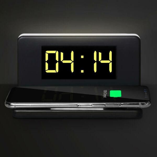 Vezeték nélküli mobiltöltő óra