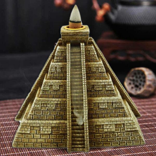 Vízesés hatású füstölő égető piramis
