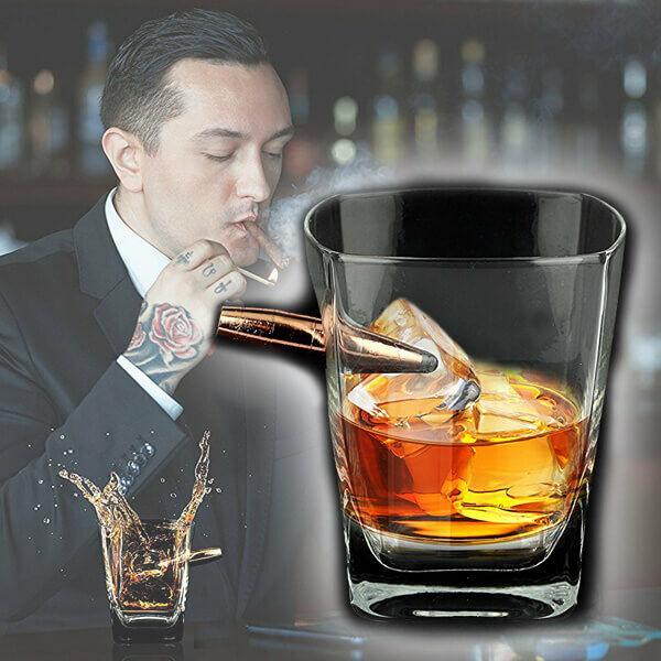 Whisky Pohár Tölténnyel