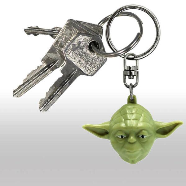 Yoda 3D Kulcstartó
