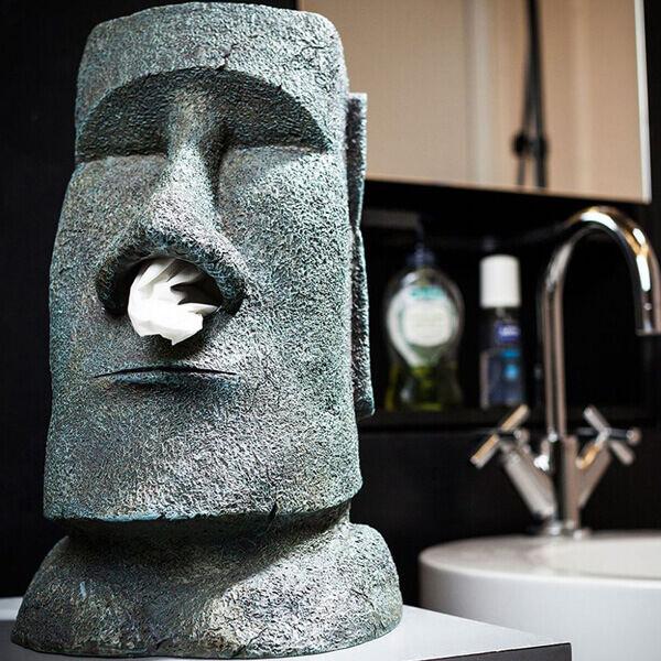 Zsepiadagoló Moai Szobor